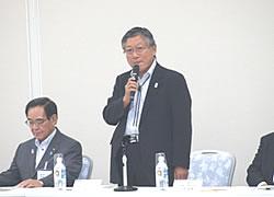 Address by Mr. Koizumi, Chairman of KaWaBiz NET